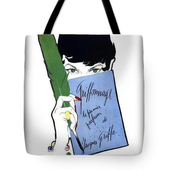 Tote Bag featuring the digital art Griffe by ReInVintaged