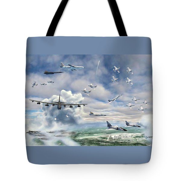 Griffiss Air Force Base Tote Bag by Dave Luebbert