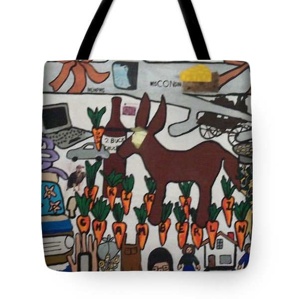 Tote Bag featuring the painting Griffter by Erika Chamberlin