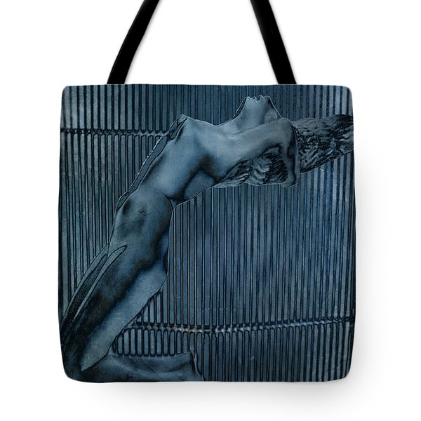 Tote Bag featuring the digital art Grill Of The Ride by Greg Sharpe