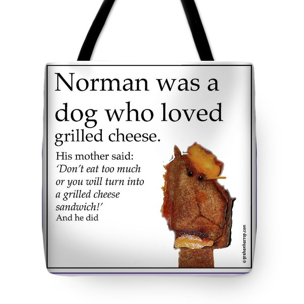 Grilled Cheese Dog Tote Bag