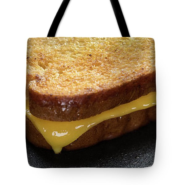 Grilled Cheese Panorama Tote Bag