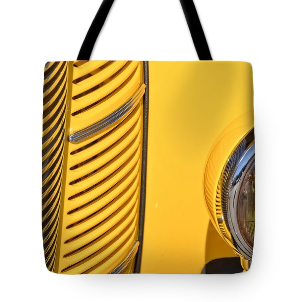 Grilled Chrome To Yellow Tote Bag
