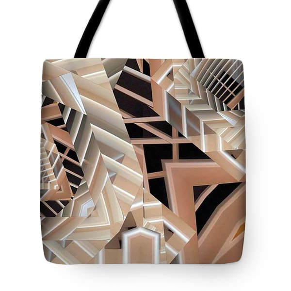 Grilled Tote Bag by Ron Bissett