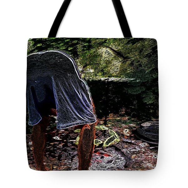 Grilling Out Tote Bag