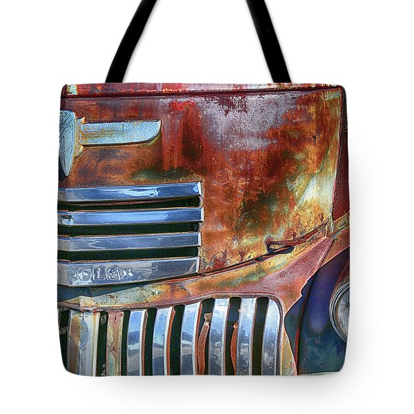 Grilling With Rust Tote Bag