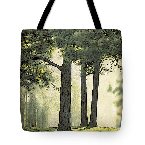 Tote Bag featuring the photograph Grimm's Forest  by Beauty For God