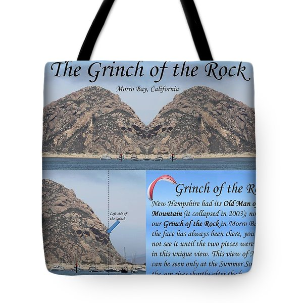 Grinch Of The Rock Story Tote Bag