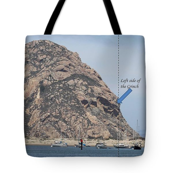 Grinch Of The Rock Left Side Tote Bag