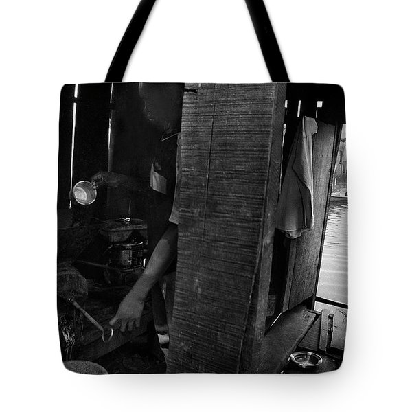 A Lurking Pepper-grinder Tote Bag