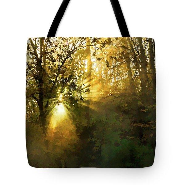 Grings Mill Fog 15-039 Tote Bag