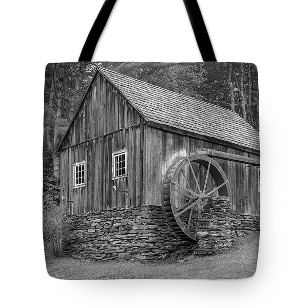 Tote Bag featuring the photograph Grist Mill by Guy Whiteley