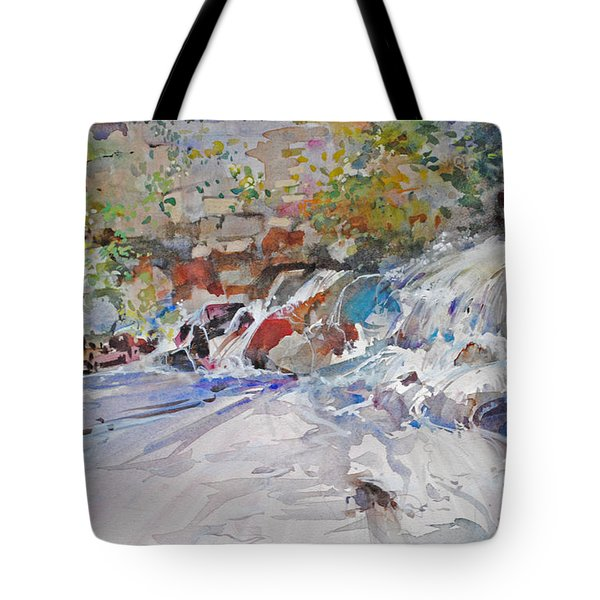 Grist Mill Spill Way Tote Bag