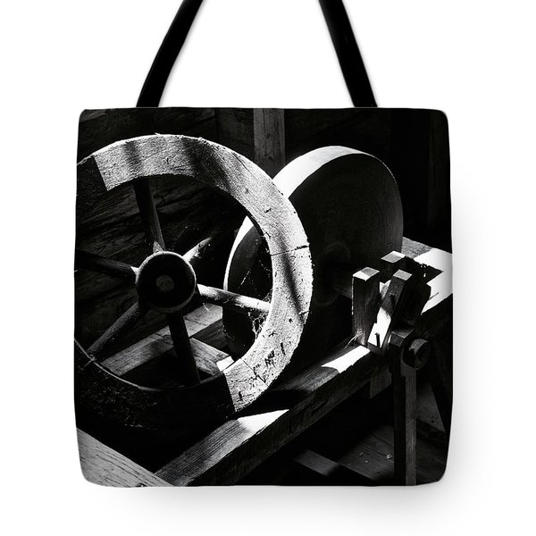 Grist Mill Wheel Tote Bag