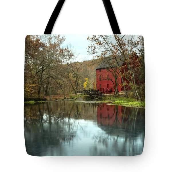 Grist Mill Wreflections Tote Bag