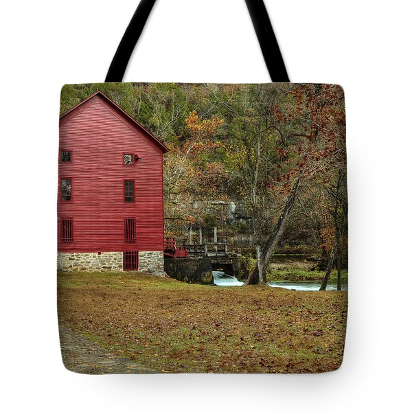 Grist Mill Wtrees II Tote Bag