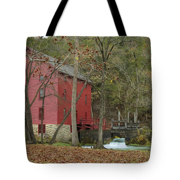 Grist Mill Wwaterfall Tote Bag