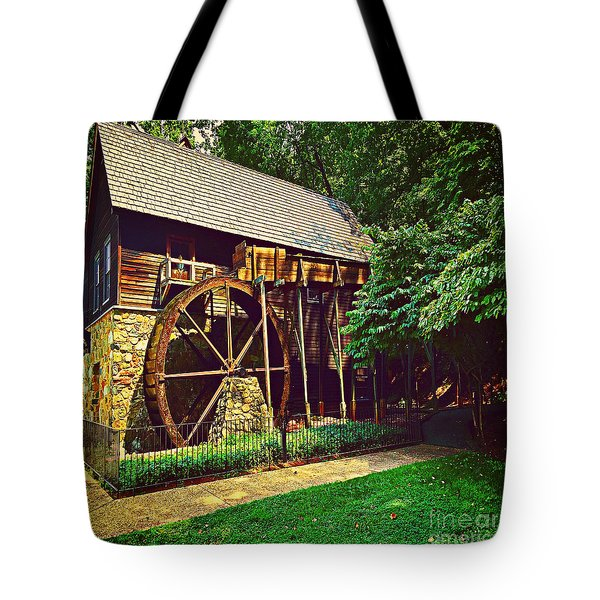 Gristmill - Charlottesville Virginia Tote Bag by Judy Palkimas