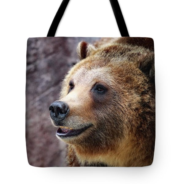 Grizzly Smile Tote Bag