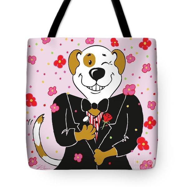 Groom Dog Tote Bag