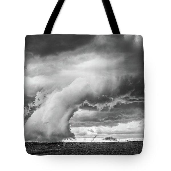 Groom Storm Bw Tote Bag
