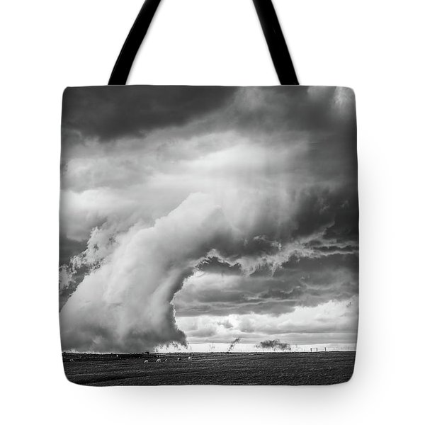 Groom Storm Bw Tote Bag