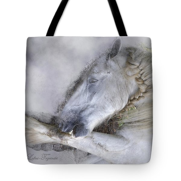 Tote Bag featuring the photograph Grooming by Michele A Loftus