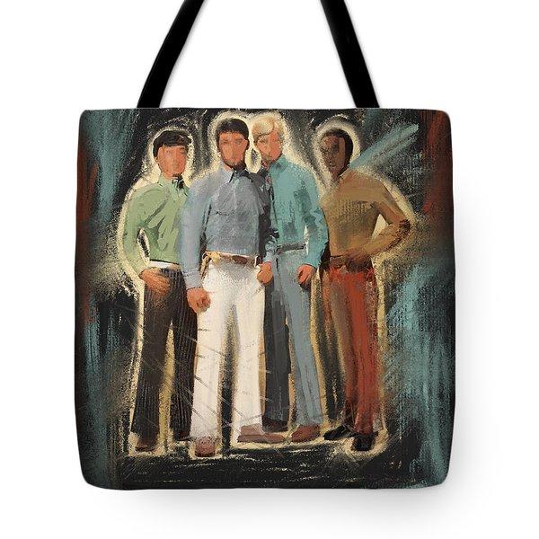 Groovy Dudes Tote Bag