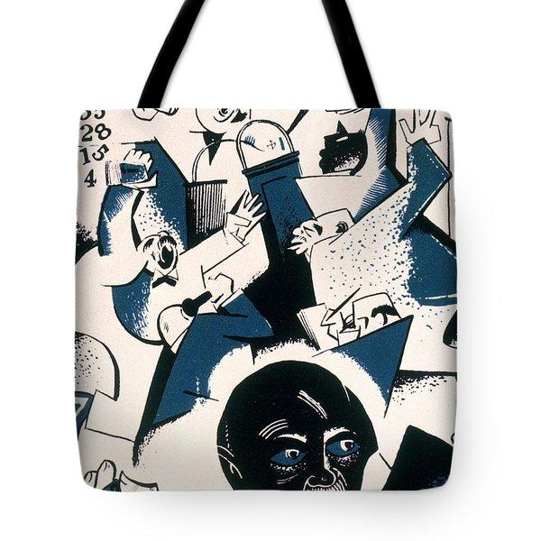 Gropper - Stock Exchange Tote Bag by Granger