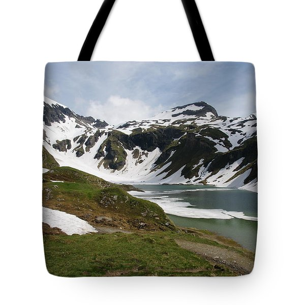 Tote Bag featuring the photograph Grossglockner High Alpine Road by Christian Zesewitz