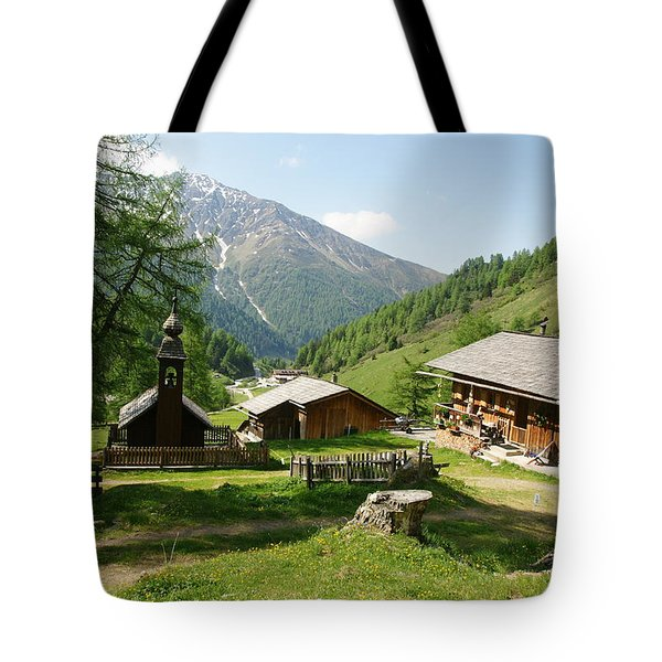 Grossglockner Road Tote Bag
