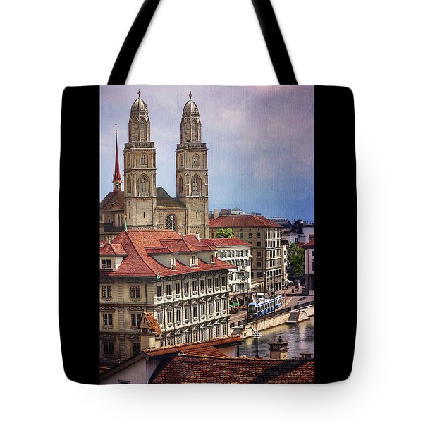 Grossmunster In Zurich Tote Bag