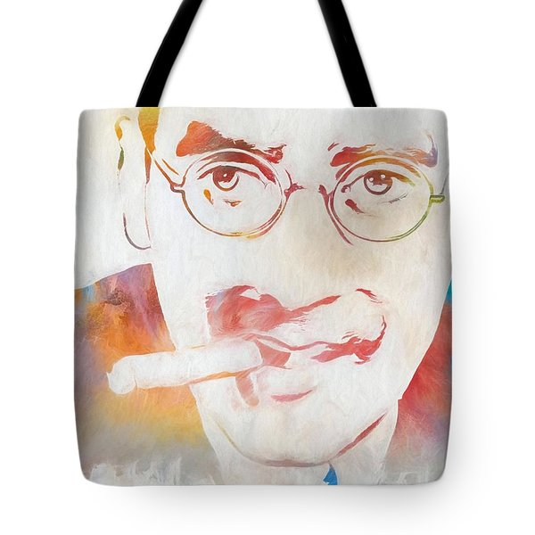 Groucho Marx Tote Bag by Dan Sproul