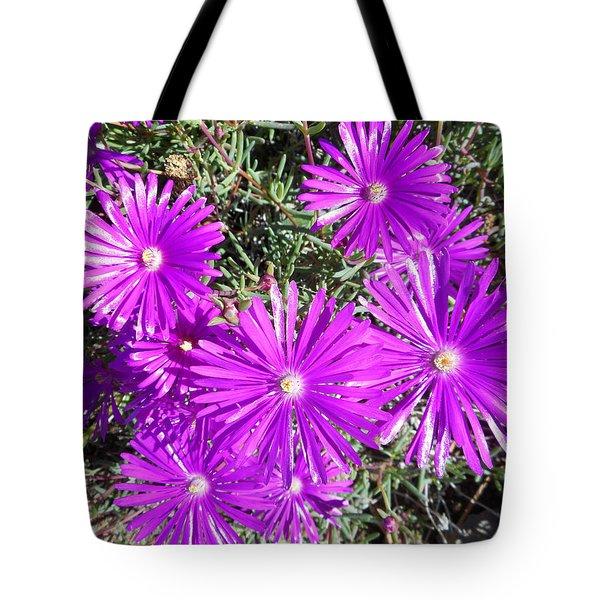 Ground Blooms 1 Tote Bag