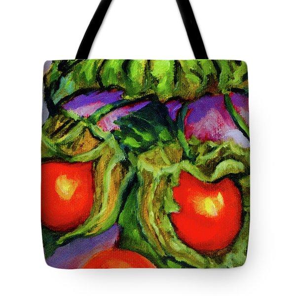 Ground Cherries Tote Bag