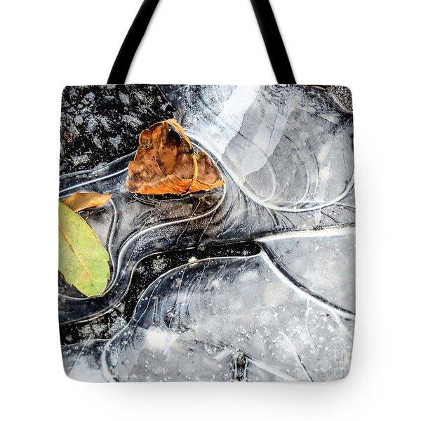 Ground Patterns Tote Bag