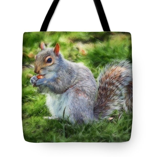 Tote Bag featuring the photograph Ground Squirrel by Pennie  McCracken