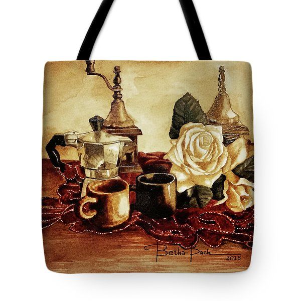 Grounded Roses 1 Tote Bag