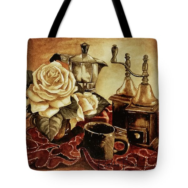 Grounded Roses 2 Tote Bag
