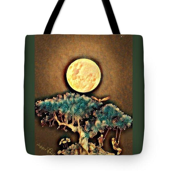 Grounding Tote Bag by Vennie Kocsis