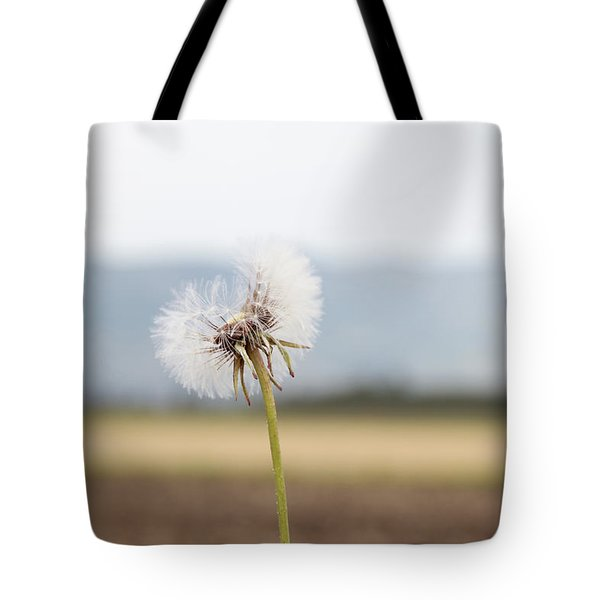 Groundsel In The Wind Tote Bag