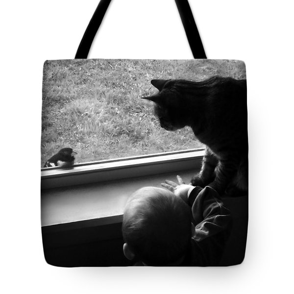 Group Chat Tote Bag