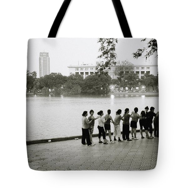 Group Massage Tote Bag