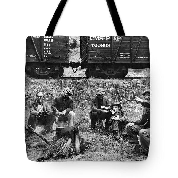 Group Of Hoboes, 1920s Tote Bag by Granger