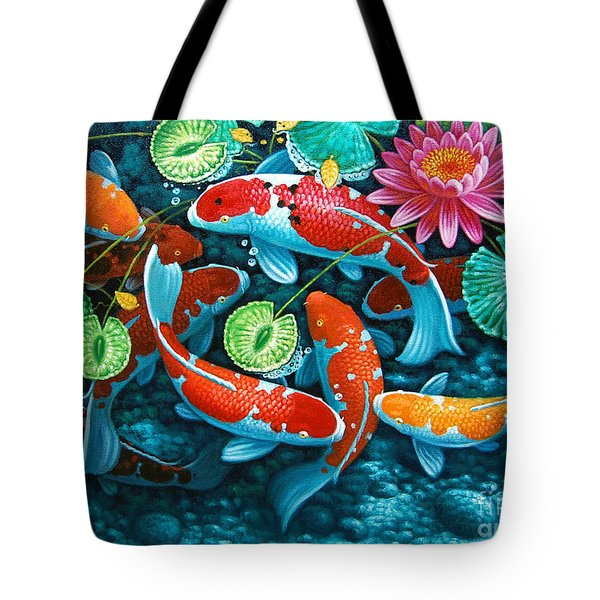 Growing Affluence Tote Bag