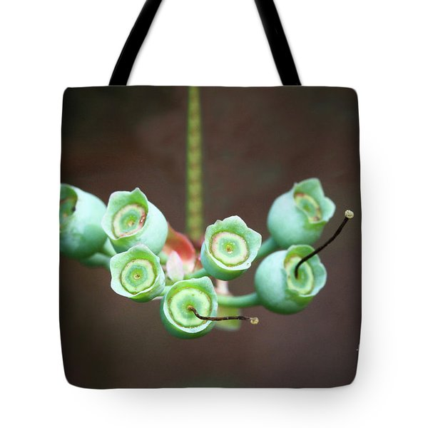 Growing Blueberries Tote Bag