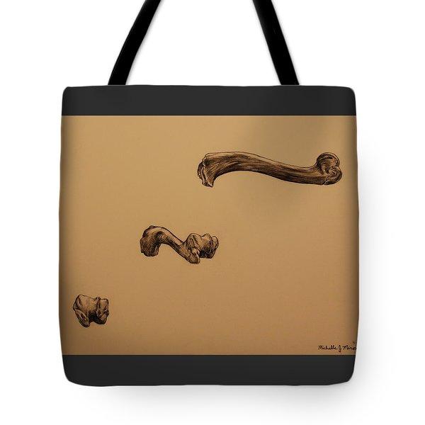 Growing Bone Tote Bag