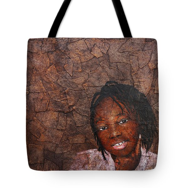 Growing Dreads Tote Bag by Ronex Ahimbisibwe