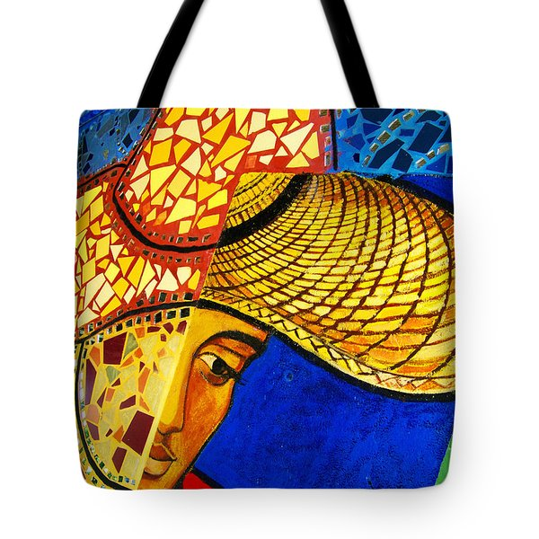 Growing Edgewater Mosaic Tote Bag by Kyle Hanson