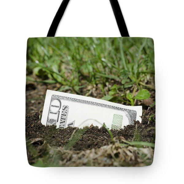 Growing Money Tote Bag by Mats Silvan